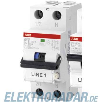 ABB Stotz S&J FI/LS-Schalter DS201A-C6/0,03
