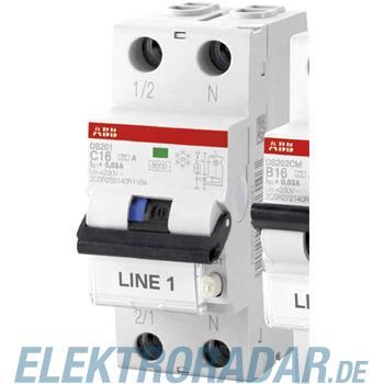 ABB Stotz S&J FI/LS-Schalter DS201A-C6/0,3AP-R