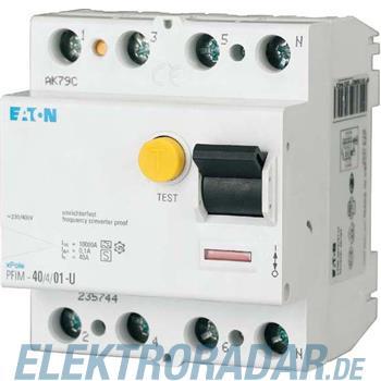 Eaton FI-Schutzschalter PFIM-40/4/01-U