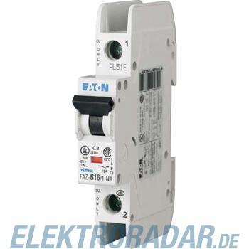 Eaton Leitungsschutzschalter FAZ-C15/1-NA