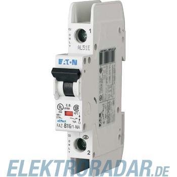 Eaton Leitungsschutzschalter FAZ-B16/1-NA
