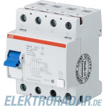ABB Stotz S&J FI-Schutzschalter F 204B-25/0,03