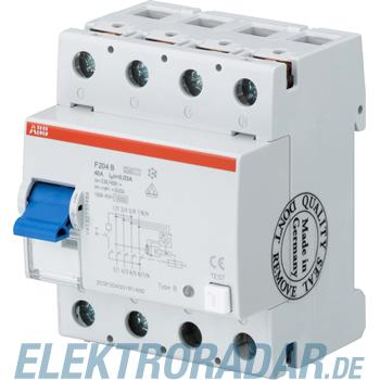 ABB Stotz S&J FI-Schutzschalter F 204B-100/0,03L