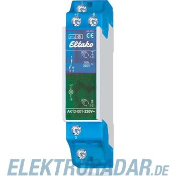 Eltako Kontrollschalter AK12-001-230V-blau