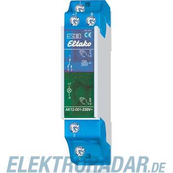 Eltako Kontrollschalter AK12-002-230V-rot
