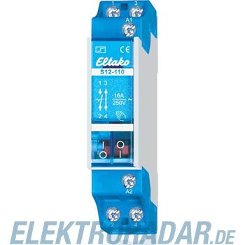 Eltako Stromstoßschalter S12-110-8V DC