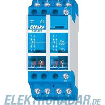 Eltako Stromstoßschalter S12-220-12V DC
