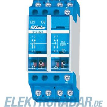 Eltako Stromstoßschalter S12-220-220V DC
