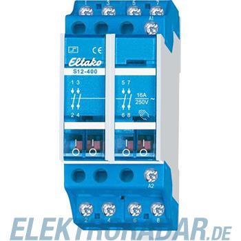Eltako Stromstoßschalter S12-400-8V DC