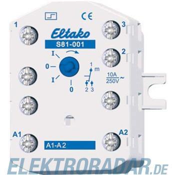 Eltako Stromstoßschalter S81-001-8V DC