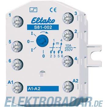 Eltako Stromstoßschalter S81-002-8V DC