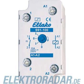 Eltako Stromstoßschalter S91-100-110V