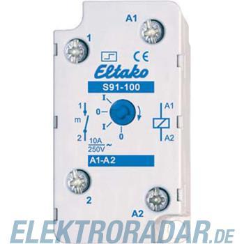 Eltako Stromstoßschalter S91-100-8V DC