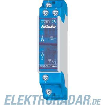 Eltako Taster mit Kontrolleuchte TK12-001-230V-weiß