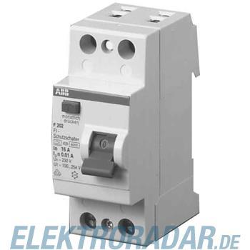 ABB Stotz S&J FI-Schutzschalter F202A-25/0,03AP-R