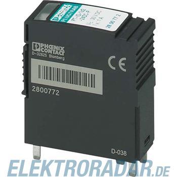 Phoenix Contact Überspannungsschutzstecker PT-IQ-1X2-24DC-P