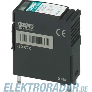 Phoenix Contact Überspannungsschutzstecker PT-IQ-2X1-24DC-P