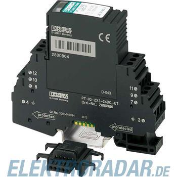 Phoenix Contact Überspannungsschutz-Gerät PT-IQ-2X2-24DC-UT