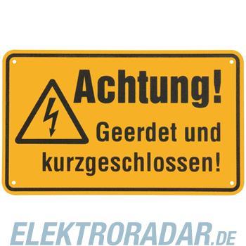 Dehn+Söhne Warn-/Hinweisschild WHS A GUKG M