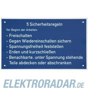 Dehn+Söhne Warn-/Hinweisschild WHS 5 SR