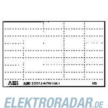 ABB Stotz S&J Kennzeichnungsschild BS
