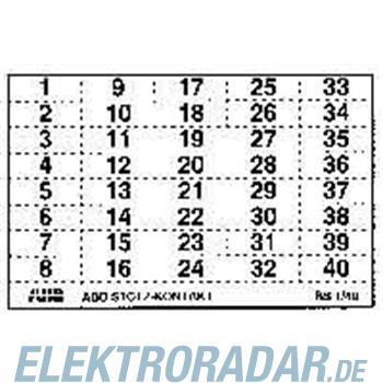 ABB Stotz S&J Kennzeichnungsschild BS 1/40