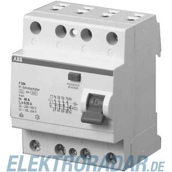 ABB Stotz S&J FI-Schutzschalter F 204A-25/0,3