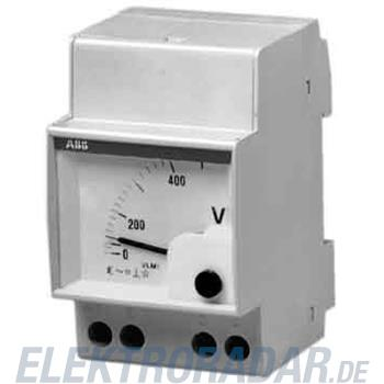 ABB Stotz S&J Analog-Voltmeter VLM 1-500