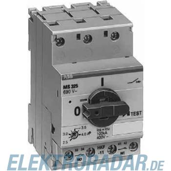 ABB Stotz S&J Motorschutzschalter MS325-6.3-HKF11