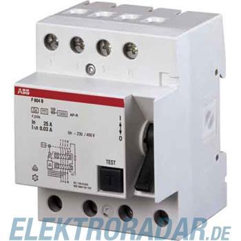 ABB Stotz S&J FI-Schalter F804B-80/0,3AP-R
