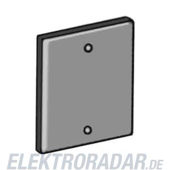OBO Bettermann Abdeckplatte T12L P01S 9011