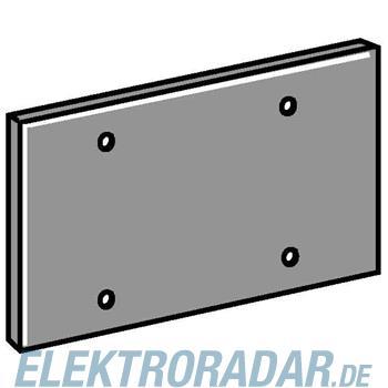 OBO Bettermann Abdeckplatte T12L P02S 9011