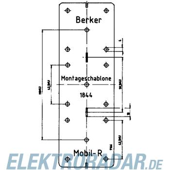 Berker EB-Montageschablone 091844