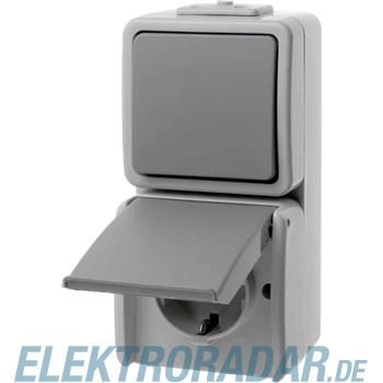 Berker Komb.Schalter/Steckdose 478005