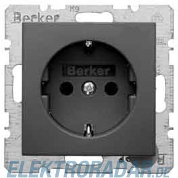 Berker Schuko-Steckd.anth/matt 47431606
