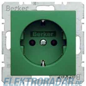 Berker Schuko-Steckdose gn/matt 47431913
