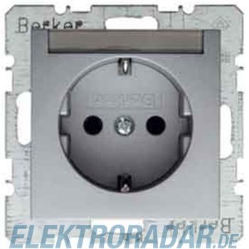 Berker Schuko-Steckd.alu 47501404