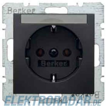Berker Schuko-Steckd.anth/matt 47501606