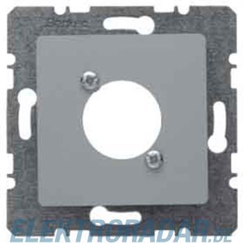 Berker Zentralplatte alu 14121404