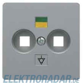 Berker Zentralplatte alu 14031404