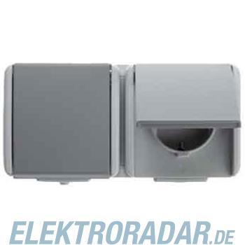 Berker Schuko-Doppelsteckdose gr 478405