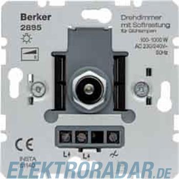 Berker Drehdimmer mit Softrastung 2885