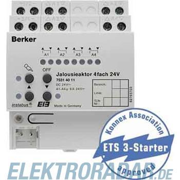 Berker Jalousieaktor 4fach 75314011