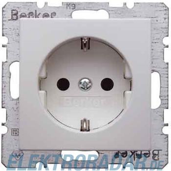 Berker SCHUKO-Steckdose pws/gl 41238989