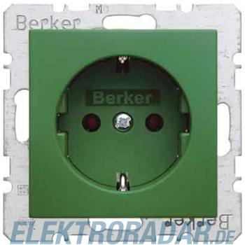 Berker SCHUKO-Steckdose gn/gl 41438913