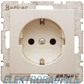 Berker SCHUKO-Steckdose ws/gl 41438982