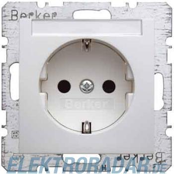 Berker SCHUKO-Steckdose pws/gl 41498989