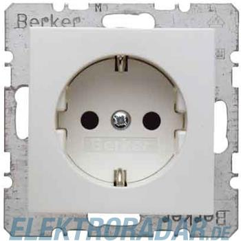 Berker SCHUKO-Steckdose pws/gl 47238989