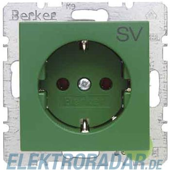 Berker SCHUKO-Steckdose gn/gl 47438903