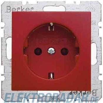 Berker SCHUKO-Steckdose rt/gl 47438912